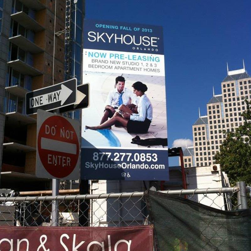 commercial real estate sign, custom real estate signs, broker signs