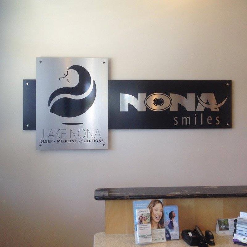 interior office signs, logo sign orlando, logo sign for office orlando