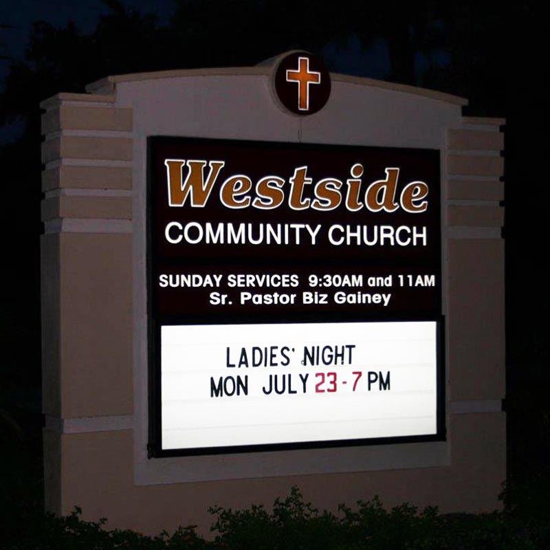 Church Signs In Orlando, FL